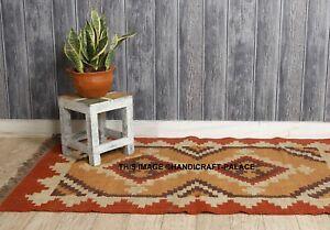 Persian/turkish kilim rug Afghan veg dyed Cotton handwoven floor carpet Indian