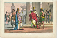 1858 costumes Persian lithography costumes Persian لباس فارسی Persian Empire