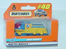 MATCHBOX WINDOW BOX 1999 #40 DEEP DIVER