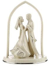 Lenox Forever Yours Bride & Groom Cake Topper Wedding Promises New In Box