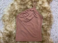 Dixie camel one strap Camisole Top sleepwear nightwear size S