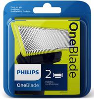 2x Philips QP 210/50 Ersatzklingen Für OneBlade Pro