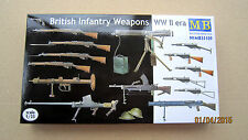 British Infantry Weapons WWII    1/35 Master Box  # 35109