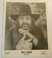 Rare Vintage RAY COBB Hand Signed AUTOGRAPH Country Western PHOTO
