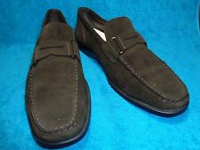 TODDS DARK BROWN LEATHER UPPER MADE IN ITALY SIZE 10.5