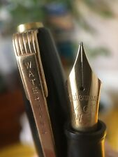 Vintage Restored Black English Waterman's 503 Fountain Pen