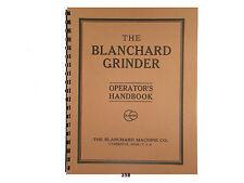 Blanchard No. 16 Surface Grinder Operators Handbook *358