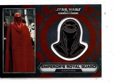 Star Wars Chrome Perspective Emperor,s Royal Guard Helmet medallion  #29 card