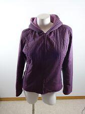 St Bernard Womens Size S Purple Fleece Lined Hooded Ski Jacket