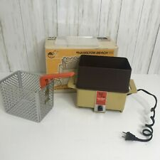 Vintage Dominion by Hamilton Beach Tall Fry Deep Fryer-Cooker with   Box