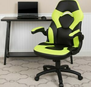X10 Gaming Chair Racing Office Ergonomic Computer PC Adjustable Swivel Chair ...