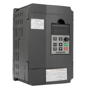2.2Kw Variable Frequency Drive Inverter CNC Motor Speed VFD Single -3 Phase X5V8