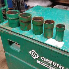 greenlee extension bushing set