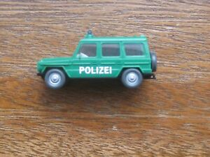 Wiking Mercedes Benz G-Model 230-G Police 4WD. 1:87 Scale. No Box.