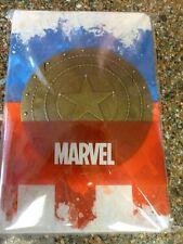 Marvel Captain America 3D Metal Shield Premium Journal Diary Sketchbook Note New