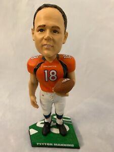 "NFL Peyton Manning 8"" Denver Broncos Forever Collectibles Bobblehead Figurine"