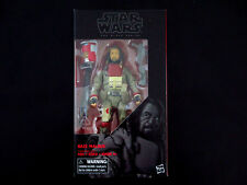 "Star Wars Black Series Baze Malbus 6"" Action Fig. #37 Hasbro, Rogue One"