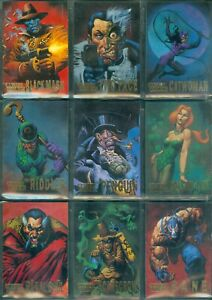 Batman Master Series 10 Card Villains Insert Set