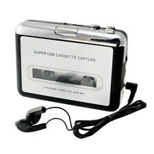 Portable USB Cassette Tape to MP3 iPod CD Converter Capture Audio Music Player