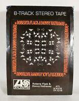 Roberta Flack & Donny Hathaway (1972 Atlantic 8-Track Tape Cartridge) **Club Ed.