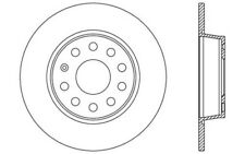 2x OPEN PARTS Discos de Freno Traseros Pleno 272mm Para VW JETTA BDA2539.10