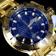Invicta DC Comics Batman Coalition Forces Gold Plated 52mm Automatic Watch New