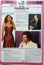 NICOLETTA_JOE DASSIN => COUPURE DE PRESSE 1 page 1980 / CLIPPING
