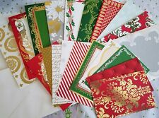 Anna Griffin Glorious Greeting Christmas Cards Layers Inside Sentiments Set 10