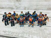 Vintage Toymakers Military Muscle Men Mighty Heroes Mini Figures Large Bundle