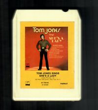 Tom Jones 1971 Parrot 8 Track Tape She's A Lady