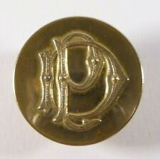 Bouton de livrée -  Monogramme DP - 32 mm - XIXe - French Livery Button