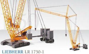 Conrad 2736 Liebherr LR1750 Lattice-Boom Crawler Crane 1/50 O scale Die-cast MIB