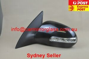 NEW DOOR MIRROR FOR HYUNDAI i30 2007 - 2012 (LEFT HAND SIDE, With Blinker