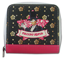 **Legit** Sailor Moon Tuxedo Kamen & Icons Authentic Anime Girl Wallet #80269
