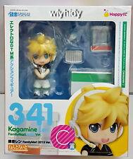 Nendoroid Series Kagamine Len 341 FamilyMart Ver. 2013 Figure  - Happy Kuji  h#
