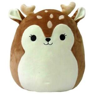 "Squishmallow Dawn The Fawn Deer Soft Plush Pillow 5"" / 12cm"