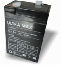 6v 4.5ah Lead Acid Rechargeable Battery - Ultramax