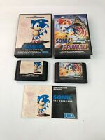 Sonic The Hedgehog 1 & Spinball /  Bundle / Sega Mega Drive