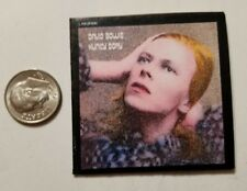Miniature record album Barbie 1/6  Figure Playscale David Bowie Hunky Dory
