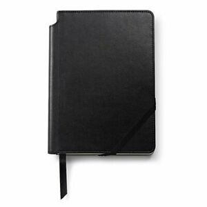 A5 BLACK Cross Elegant Flexible High-Quality Leatherette Cover Lined Journal