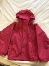 Helly Hansen Girls Rain Coat Bright Pink Size 128/ 8