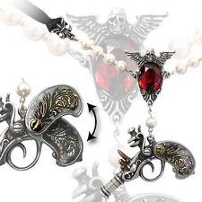 Alchemy Collier Sovay Locket Steampunk Gothic Schmuck