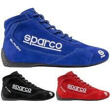 Shoes Slalom Suede Boots Race Racing Rally Karting Shoes in Red Blue Black color
