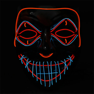 Purge Special Light up Mask - Halloween LED Masks Cosplay Special Edition Glow i
