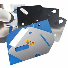 3 Paint Lacquer Run Removal Masking Smart Repair Stencil Stainless Steel FMT4750