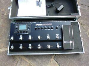 Line 6 POD HD 500 inkl. Case, Line6 PODHD-500, inkl. Pedalboard