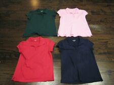 Girls Short Sleeve Uniform Tops Size 16 Childrens Place Lot