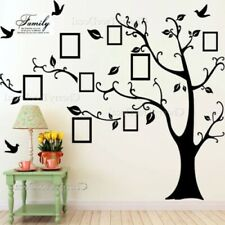 Huge Family Tree Wall Stickers Birds Photo Frames Art Decals Home Decor