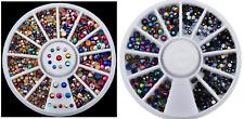 STRASS Multicolore-Decorazione Unghie Iridescente-Effetto Vintage-Rainbow Dark