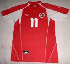 CHAPUISAT camiseta Suiza player issue spec EURO 2004 trikot shirt maillot jersey